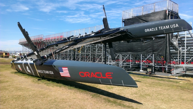 Oracle Team USA, winners of the 2013 America's Cup