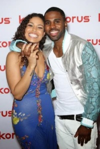 Jordan Sparks and Jason Derulo check out Korus while at Dancing With The Stars!