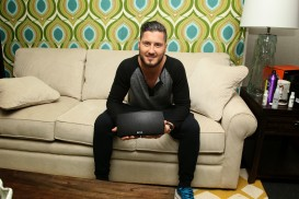 Val Chmerkovskiy enjoys listening to his Korus speaker!