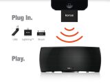 Korus wireless speakers. Plug in. Play.