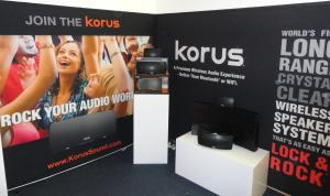 Korus Wireless Speakers at CE Week