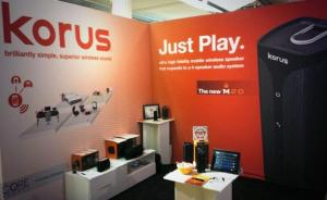 Korus booth at CE Week 2014