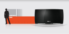 Korus wireless speakers have a better wireless range than Bluetooth