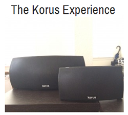 Korus V600 and V400 speakers